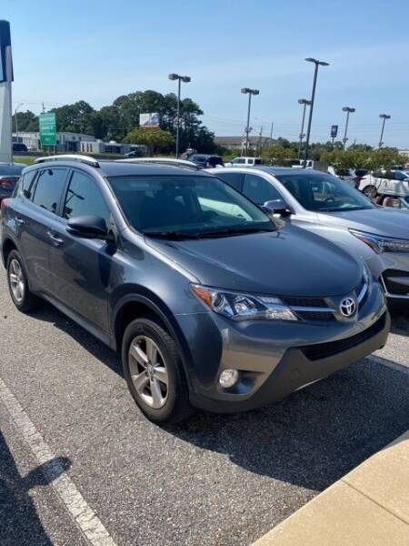 2014 Toyota RAV4 for sale at JOE BULLARD USED CARS in Mobile AL