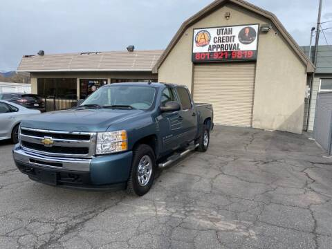 2011 Chevrolet Silverado 1500 for sale at Utah Credit Approval Auto Sales in Murray UT