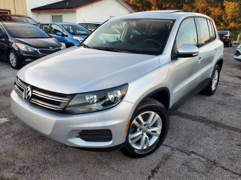 2012 Volkswagen Tiguan for sale at Mars auto trade llc in Kissimmee FL