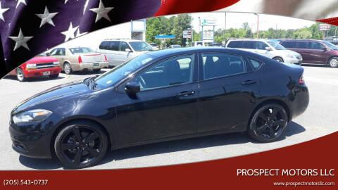 2016 Dodge Dart for sale at Prospect Motors LLC in Adamsville AL