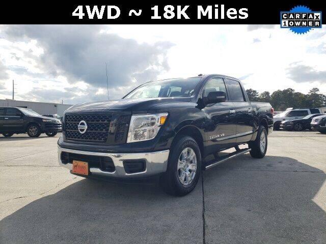 2019 Nissan Titan for sale at Hardy Auto Resales in Dallas GA