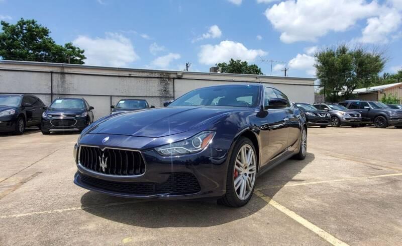 2015 Maserati Ghibli for sale at International Auto Sales in Garland TX