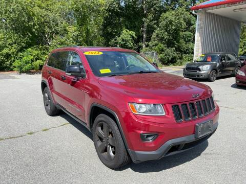 2014 Jeep Grand Cherokee for sale at Gia Auto Sales in East Wareham MA