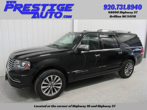 2017 Lincoln Navigator L for sale at Prestige Auto Sales in Brillion WI