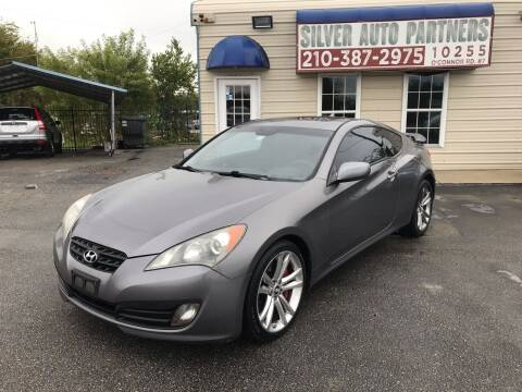 2010 Hyundai Genesis Coupe for sale at Silver Auto Partners in San Antonio TX