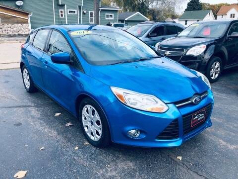 2012 Ford Focus for sale at SHEFFIELD MOTORS INC in Kenosha WI