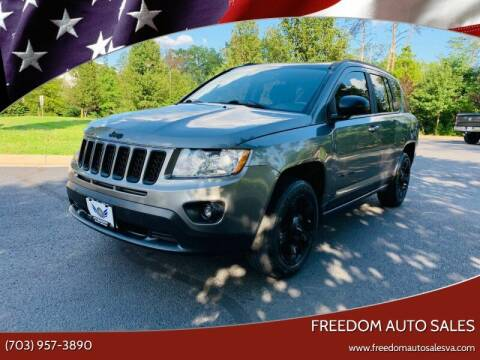 2012 Jeep Compass for sale at Freedom Auto Sales in Chantilly VA