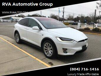 2016 Tesla Model X for sale at RVA Automotive Group in North Chesterfield VA