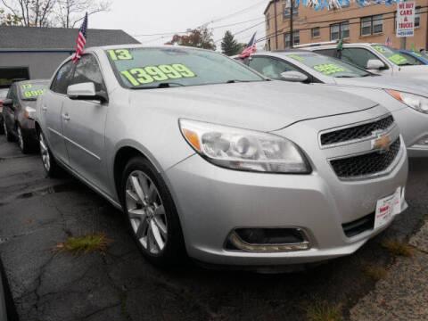 2013 Chevrolet Malibu for sale at M & R Auto Sales INC. in North Plainfield NJ
