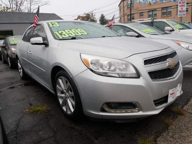 2013 Chevrolet Malibu for sale at M & R Auto Sales INC. in North Plainfield NJ