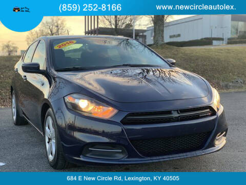 2016 Dodge Dart for sale at New Circle Auto Sales LLC in Lexington KY