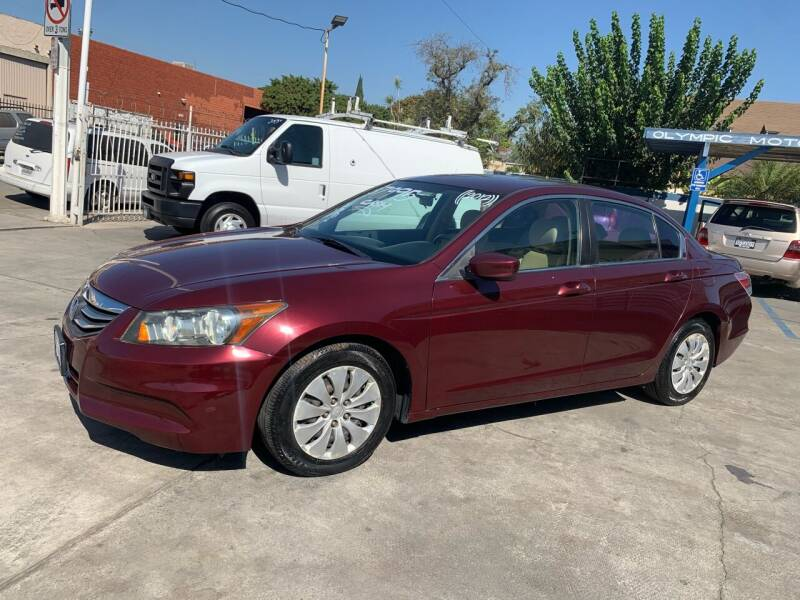 2012 Honda Accord for sale at Olympic Motors in Los Angeles CA