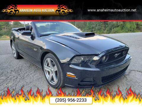 2013 Ford Mustang for sale at Anaheim Auto Auction in Irondale AL