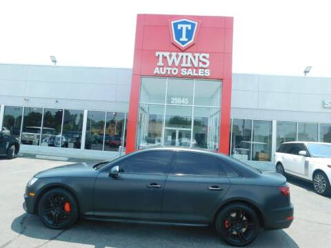 2018 Audi A4 for sale at Twins Auto Sales Inc Redford 1 in Redford MI