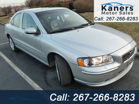 2007 Volvo S60 for sale at Kaners Motor Sales in Huntingdon Valley PA
