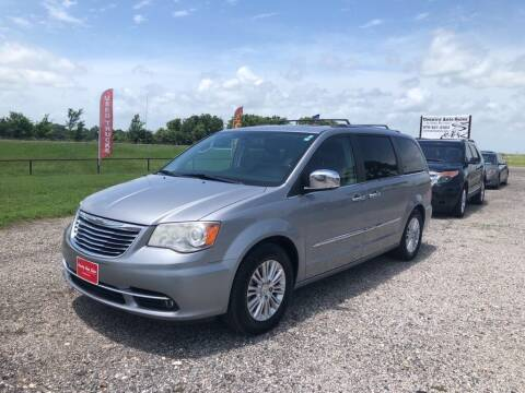 2014 Chrysler Town and Country for sale at COUNTRY AUTO SALES in Hempstead TX
