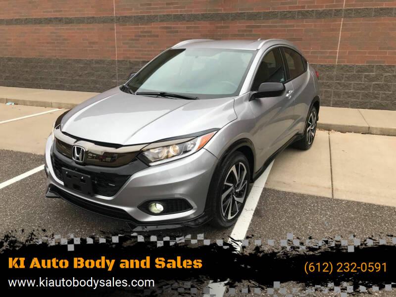 2019 Honda HR-V for sale at KI Auto Body and Sales in Lino Lakes MN