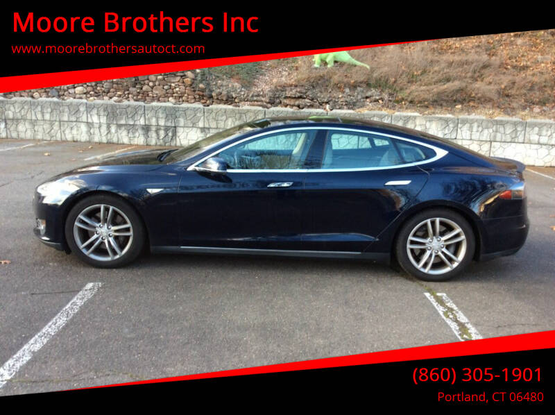 2013 Tesla Model S for sale at Moore Brothers Inc in Portland CT