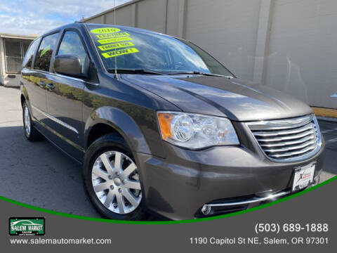 2016 Chrysler Town and Country for sale at Salem Auto Market in Salem OR