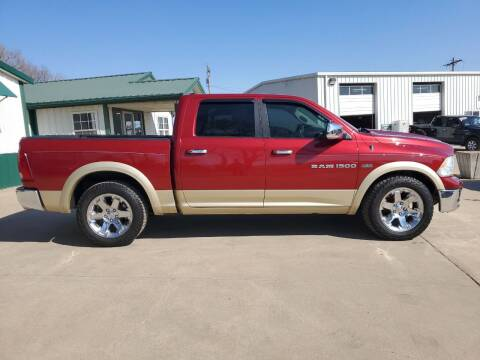 2011 RAM Ram Pickup 1500 for sale at TOWN & COUNTRY MOTORS INC in Meriden KS