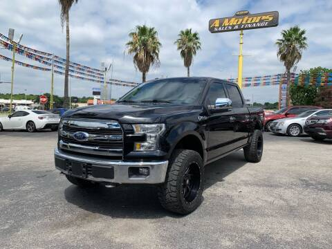 2016 Ford F-150 for sale at A MOTORS SALES AND FINANCE in San Antonio TX
