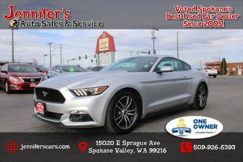 2017 Ford Mustang for sale at Jennifer's Auto Sales in Spokane Valley WA