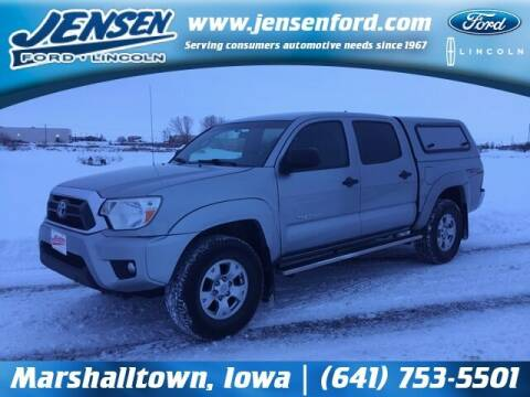 2015 Toyota Tacoma for sale at JENSEN FORD LINCOLN MERCURY in Marshalltown IA