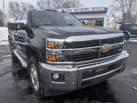 2016 Chevrolet Silverado 2500HD for sale at GREAT DEALS ON WHEELS in Michigan City IN