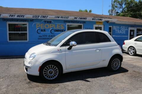 2012 FIAT 500 for sale at The Peoples Car Company in Jacksonville FL