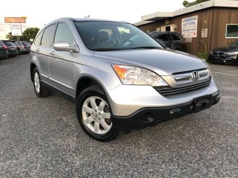 2009 Honda CR-V for sale at Mass Motors LLC in Worcester MA