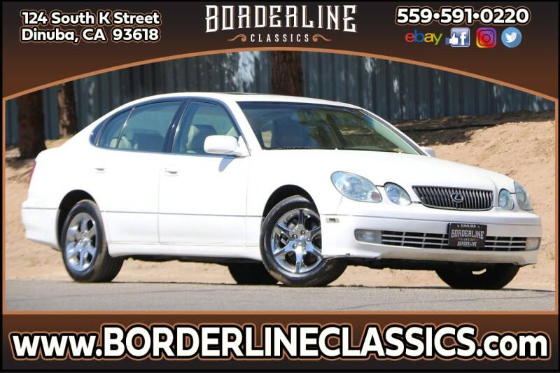 2004 Lexus GS 300 for sale at Borderline Classics in Dinuba CA