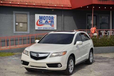 2014 Acura RDX for sale at Motor Car Concepts II - Kirkman Location in Orlando FL