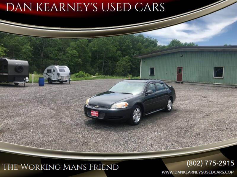 2013 Chevrolet Impala for sale at DAN KEARNEY'S USED CARS in Center Rutland VT