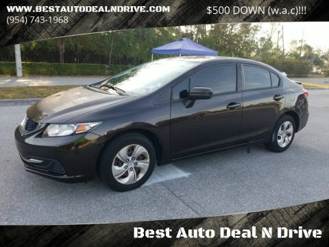 2014 Honda Civic for sale at Best Auto Deal N Drive in Hollywood FL