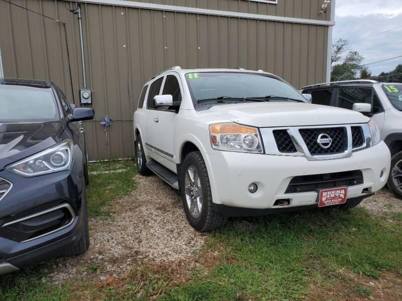 2011 Nissan Armada for sale at Buena Vista Auto Sales in Storm Lake IA