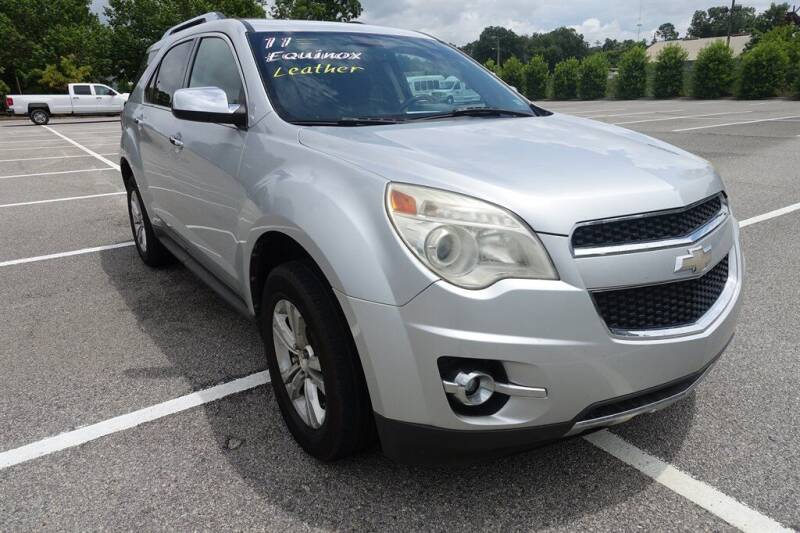 2011 Chevrolet Equinox for sale at Womack Auto Sales in Statesboro GA