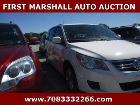 2012 Volkswagen Routan for sale at First Marshall Auto Auction in Harvey IL