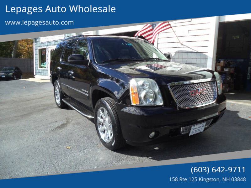2009 GMC Yukon for sale at Lepages Auto Wholesale in Kingston NH