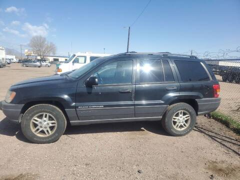 2003 Jeep Grand Cherokee for sale at PYRAMID MOTORS - Fountain Lot in Fountain CO