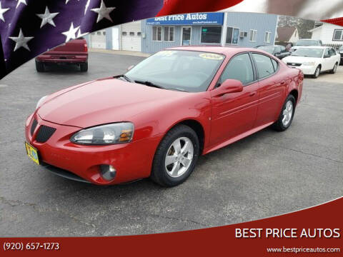 2008 Pontiac Grand Prix for sale at Best Price Autos in Two Rivers WI