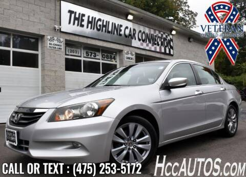 2011 Honda Accord for sale at The Highline Car Connection in Waterbury CT