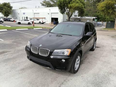 2012 BMW X3 for sale at Best Price Car Dealer in Hallandale Beach FL
