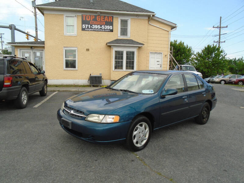 1998 Nissan Altima for sale at Top Gear Motors in Winchester VA