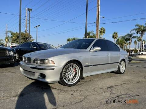 2000 BMW M5 for sale at BLACK LABEL AUTO FIRM in Riverside CA