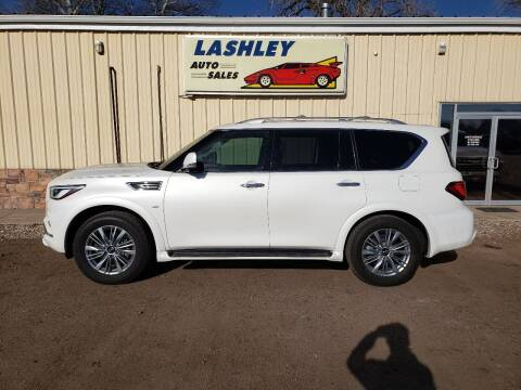 2019 Infiniti QX80 for sale at Lashley Auto Sales in Mitchell NE