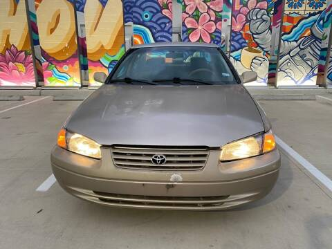 1997 Toyota Camry for sale at Delta Auto Alliance in Houston TX