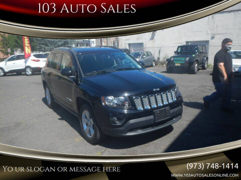 2016 Jeep Compass for sale at 103 Auto Sales in Bloomfield NJ