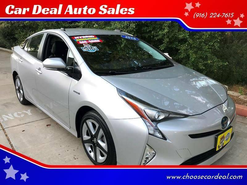 2016 Toyota Prius for sale at Car Deal Auto Sales in Sacramento CA