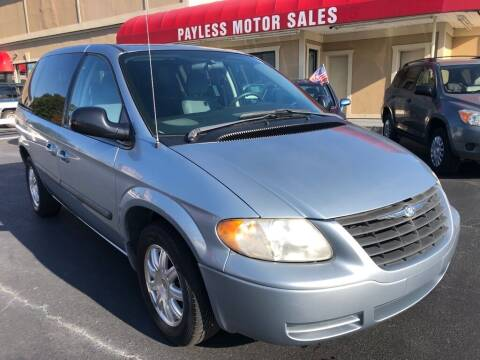 2006 Chrysler Town and Country for sale at Payless Motor Sales LLC in Burlington NC