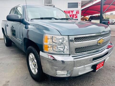2012 Chevrolet Silverado 1500 for sale at Manny G Motors in San Antonio TX